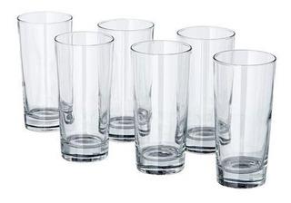 Ikea Godis Glass 6 Piezas De Vidrio Transparente Ikea Godis