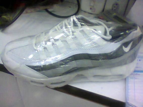 Tenis Nike Air Max 95 Branco E Preto Nº38 Ao 43 Original