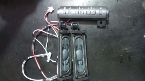 Painel De Controle + Par Alto Falante Sony Kdl 32ex525 Semi-novos