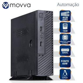 Computador Automacao Dc J1800 2.41ghz Memória 4gb Ssd 16gb