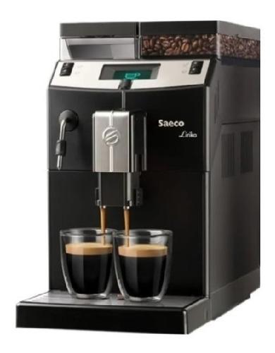 Imagen 1 de 5 de Cafetera Express Automatica Saeco Lirika Black Digiya