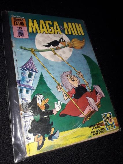 Edição Extra Disney Nº 95 - 1979 - Maga E Min