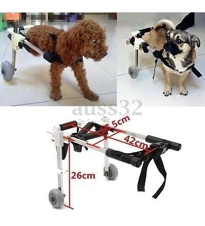 Carro Altura 10  Mascotas Para Sillas De Ruedas Para Discapa