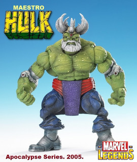 Maestro Hulk: Marvel Legends. (serie Apocalypse) 2005.