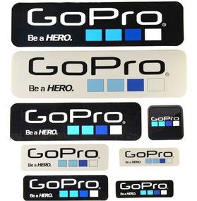 Cartela Kit Adesivo Gopro Go Pro Com 9 Unidades Frete Barato