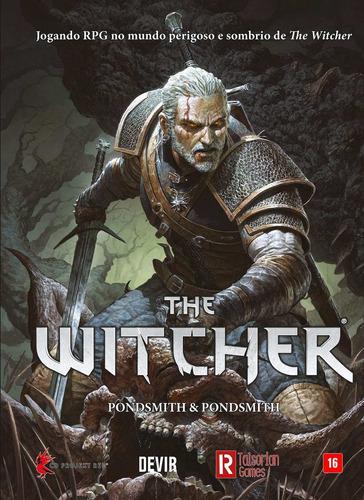 Livro The Witcher Rpg Pondsmith Devrtg0001