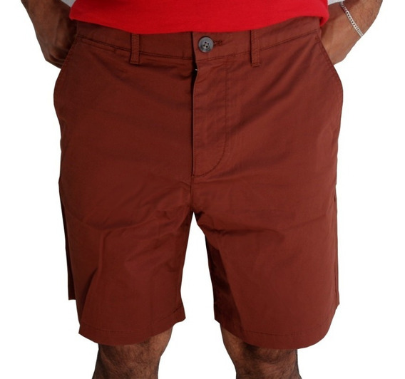 Lacoste Bermuda Fh4667 Cafe Marron Hombre Short