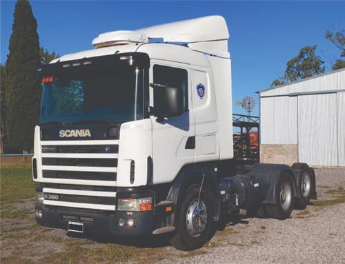 Scania 124g 360 6x2 Tractor Año 2007 Listo Para Trabajar