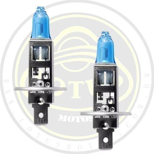 Par Lampada Farol Branca Dafra Maxsym 400 Philips +nf 001211