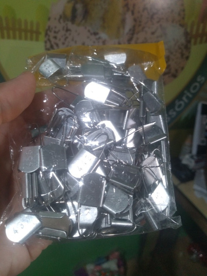 Anilhas De Aluminio Para Asa 100 Und Numeradas