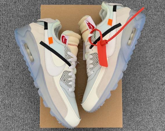 Nike Air Max 90 Off White Original Pronto Envio