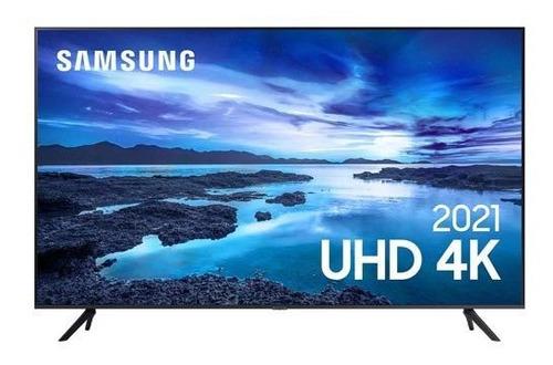 Imagem 1 de 8 de Samsung Smart Tv 4k 70  Com Processador 4k, Wi-fi -70au7700