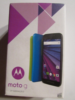 Motorola Moto G3 3ª Ger Xt1544 4g Dual 16gb Colors Hdtv Esta