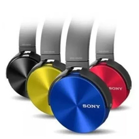 Kit 5 Fone Ouvido Sony Mdr-xb450 Headphone Extra Bass