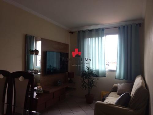 Apartamento 2 Dormitórios E 1 Vaga, Em Cangaíba. - Pe29628