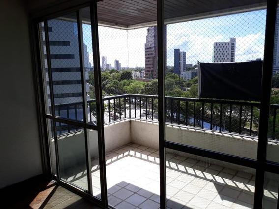 Apartamento Em Espinheiro, Recife/pe De 180m² 4 Quartos Para Locação R$ 3.000,00/mes - Ap280193
