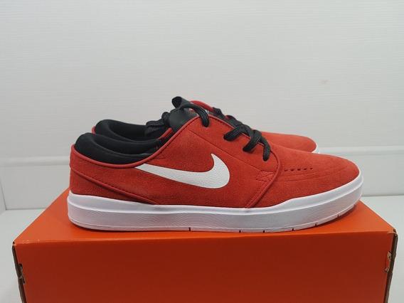 Nike Stefan Janoski Hyperfeel Tenis Masculino Skate Vermelho