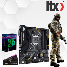 Kit Intel Core I5 8400 + Asus Tuf B360m-plus Gaming + 8gb