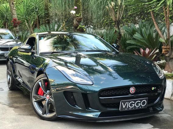 Jaguar F-type 5.0 Coupé R Supercharged V8 32v Gasolina 2p