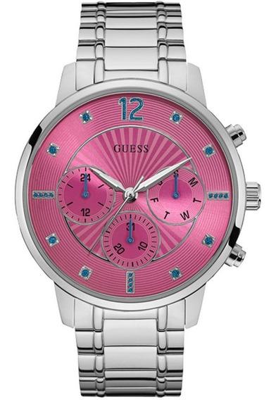Relógio Guess Feminino Rosa 92637l0gsna1 W0941l3