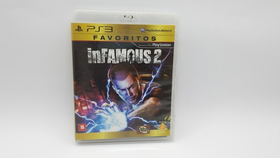 Infamous 2 - Ps3 - Midia Fisica Em Cd