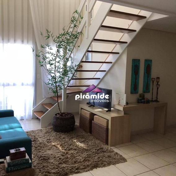 Cobertura Com 3 Dormitórios À Venda, 182 M² Por R$ 750.000,00 - Jardim Aquarius - São José Dos Campos/sp - Co0130