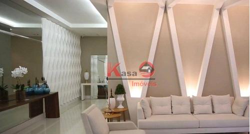 Apartamento Com 2 Dormitórios À Venda, 84 M² Por R$ 850.000,00 - Boqueirão - Santos/sp - Ap10488
