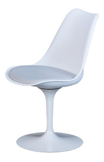 Silla Tulip Flat Diseñador Diseño Giratoria