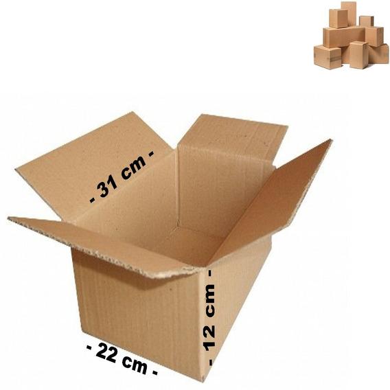 50 Caixa De Papelão 31x22x12 Para Correios Sedex Pac !!!