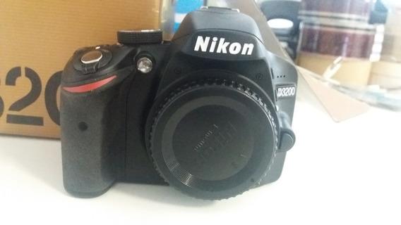 Câmera Nikon D3200 Com Lente 18-55mm