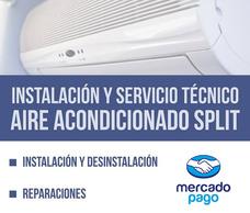 Desinstalacion Reparacion Instalo Aire Acondicionado Split