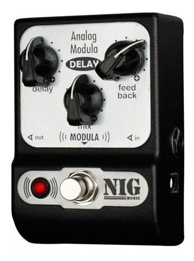 Pedal Analog Tap Tempo Nig