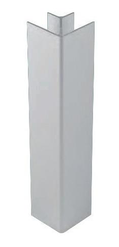Esquinero 90° De Pvc Para Rodapie (10 Unidades)