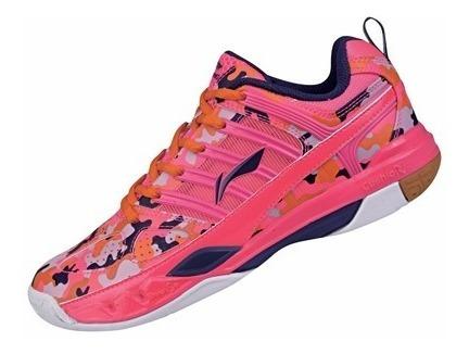 Calçado Tênis De Badminton Feminino Profissional - Li-ning