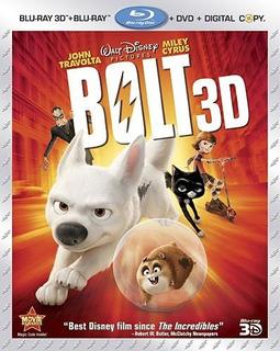 Blu-ray Bolt 3d + 2d + Dvd