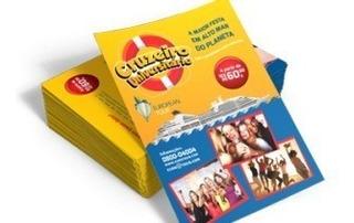 Panfletos Coloridos Frente E Verso Arte Inclusa 28x20 2500un