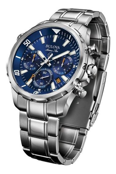 Relógio Bulova Marine Star Quartz Masculino 96b256 + Nfe