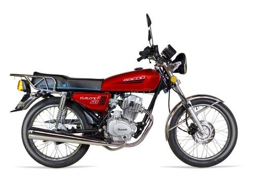 Moto Baccio Classic F 200 Okm.hasta En 36 Cuotas