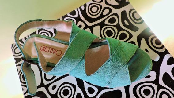 Zapatos Color Turquesa Perfectas Condiciones