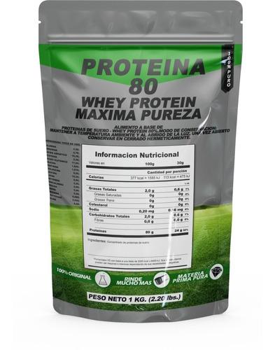 Proteina De Suero De Leche 1 Kg Whey Arla 100% Pura Real