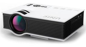 Mini Projetor Led Cinema Hdmi Usb 800l 130 Polegada Uc40 303