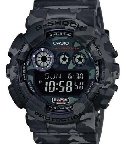Relógio Casio G-shock Masculino  Gd-120cm-8dr