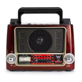 Radio Retro J028 Altomex Antigo Vintage Fm Am Oc Sd Usb Imp.