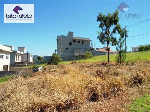 Terreno Residencial À Venda, Condomínio Fechado, Atibaia - Te1057. - Te1057