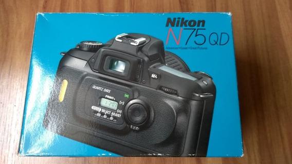 Nikon N75 Qd (28.80) Sem Uso