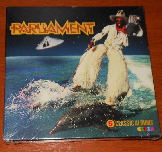 Cd - Parliament - Box 5 Cds Original Albums