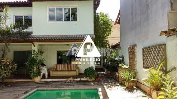 Casa De Rua À Venda, 4 Quartos, 2 Vagas, Taquara - Rio De Janeiro/rj - 23967