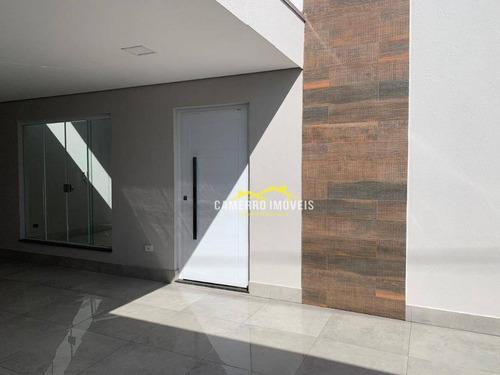 Casa Com 3 Dormitórios À Venda, 132 M² Por R$ 550.000,00 - Jardim Terramérica Ii - Americana/sp - Ca2189