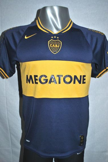 Camiseta De Boca Juniors Nike Megatone, 2007. Talle S