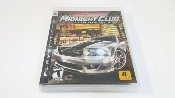 Midnight Club Los Angeles Com Mapa - Ps3 - Original